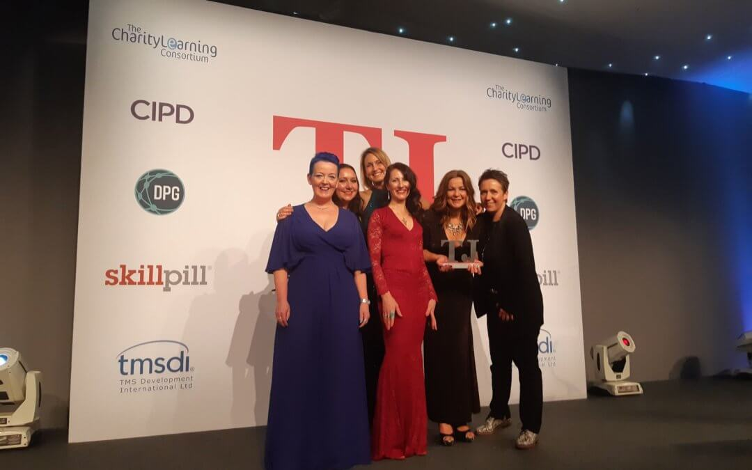 Winners of Two International Training Awards!